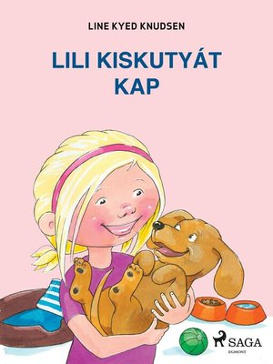 cover image of Lili kiskutyát kap