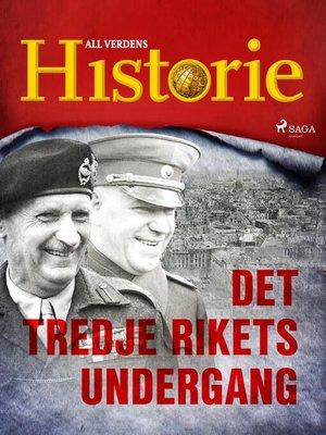 cover image of Det tredje rikets undergang