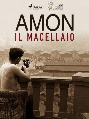 cover image of Amon il macellaio