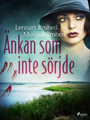 cover image of Änkan som inte sörjde