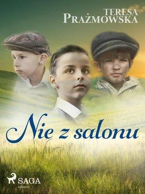 cover image of Nie z salonu
