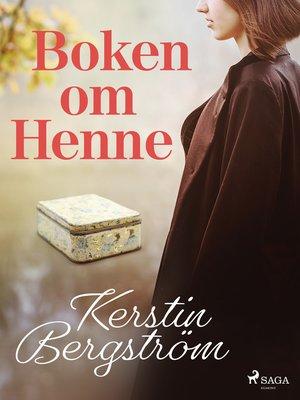 cover image of Boken om Henne