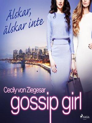 cover image of Älskar, älskar inte