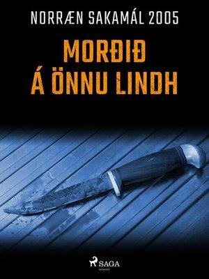 cover image of Morðið á Önnu Lindh