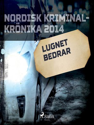 cover image of Lugnet bedrar