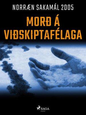 cover image of Morð á viðskiptafélaga