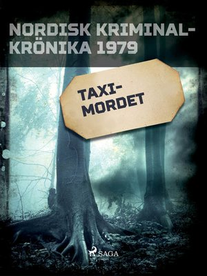 cover image of Taximordet