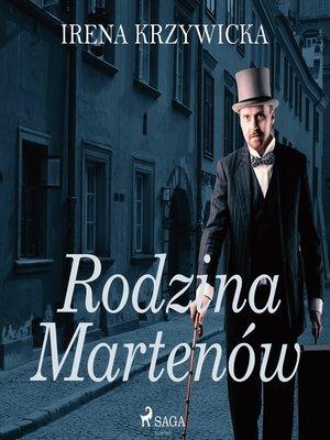cover image of Rodzina Martenów
