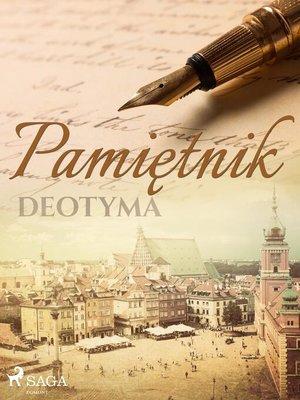 cover image of Pamiętnik