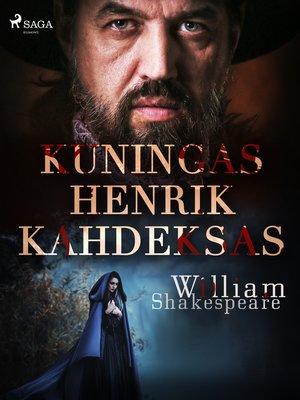 cover image of Kuningas Henrik Kahdeksas
