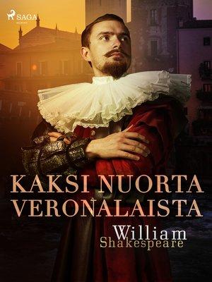 cover image of Kaksi nuorta veronalaista