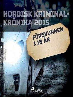 cover image of Försvunnen i 18 år