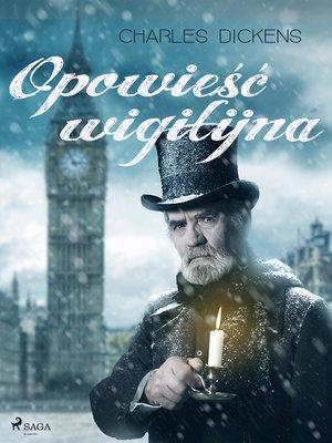 cover image of Opowieść wigilijna