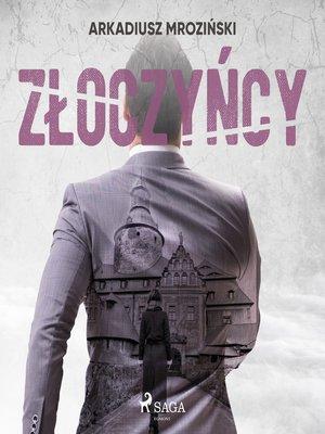 cover image of Złoczyńcy