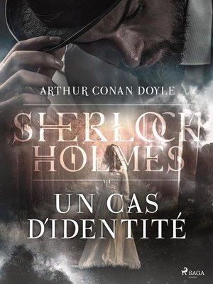 cover image of Un cas d'identité