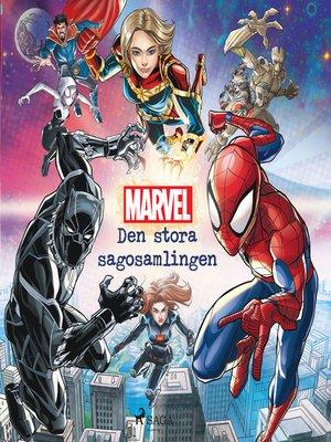 cover image of Marvel--Den stora sagosamlingen