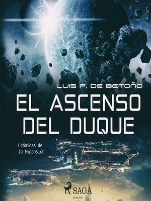 cover image of El ascenso del duque