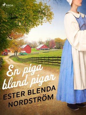 cover image of En piga bland pigor