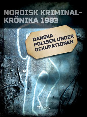cover image of Danska polisen under ockupationen