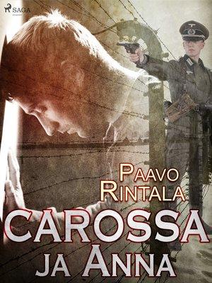 cover image of Carossa ja Anna