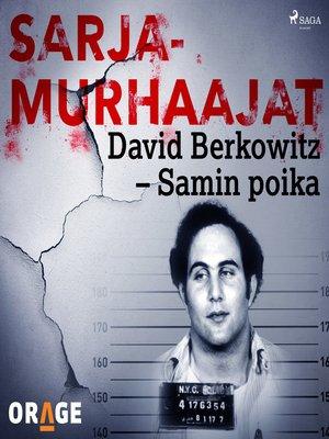 cover image of David Berkowitz – Samin poika