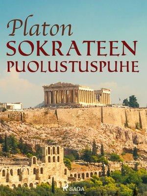 cover image of Sokrateen puolustuspuhe