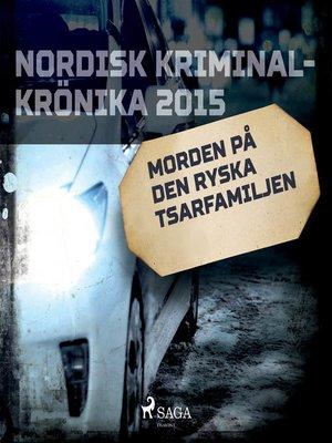 cover image of Morden på den ryska tsarfamiljen
