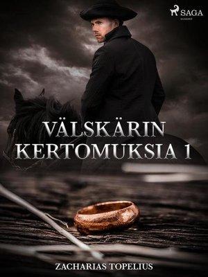 cover image of Välskärin kertomuksia 1