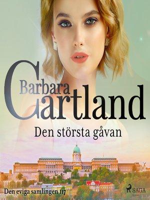 cover image of Den största gåvan
