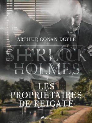 cover image of Les Propriétaires de Reigate