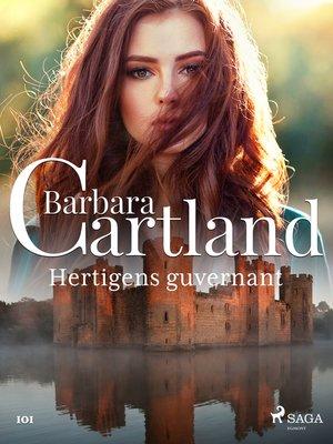 cover image of Hertigens guvernant