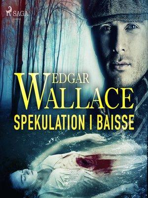 cover image of Spekulation i baisse