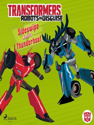 cover image of Transformers – Robots in Disguise – Sideswipe kontra Thunderhoof