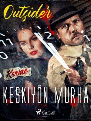 cover image of Keskiyön murha