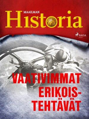 cover image of Vaativimmat erikoistehtävät