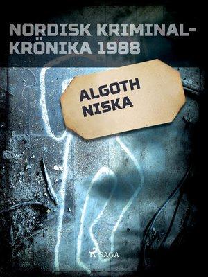 cover image of Algoth Niska