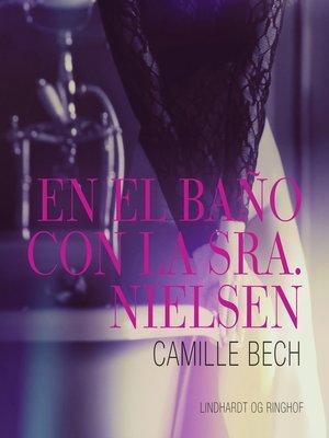 cover image of En el baño con la Sra. Nielsen