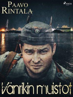 cover image of Vänrikin muistot