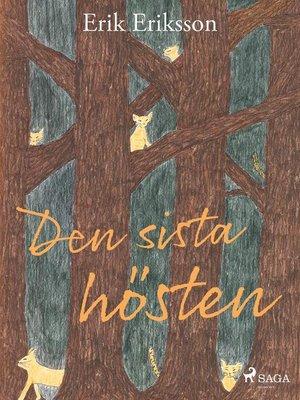 cover image of Den sista hösten