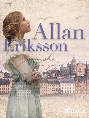 cover image of Grönska min gränd