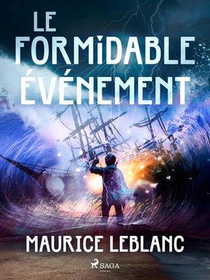 cover image of Le Formidable Événement