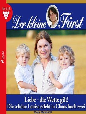 cover image of Der kleine Fürst, 113