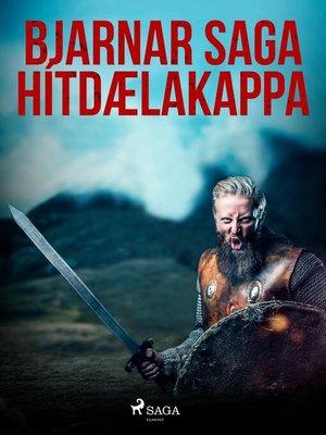 cover image of Bjarnar saga Hítdælakappa