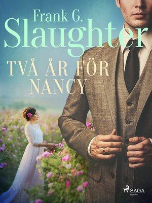 cover image of Två år för Nancy