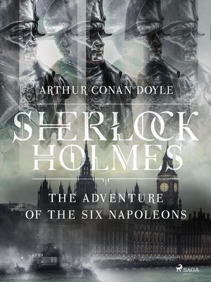 cover image of The Adventure of the Six Napoleons