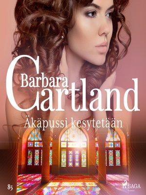 cover image of Äkäpussi kesytetään