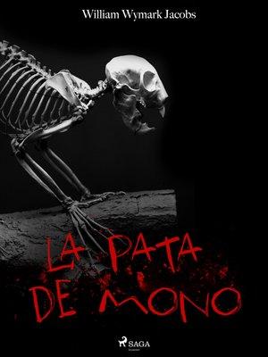 cover image of La pata de mono