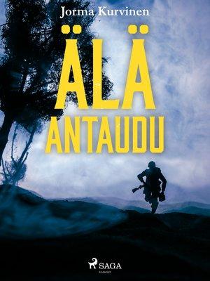 cover image of Äläantaudu