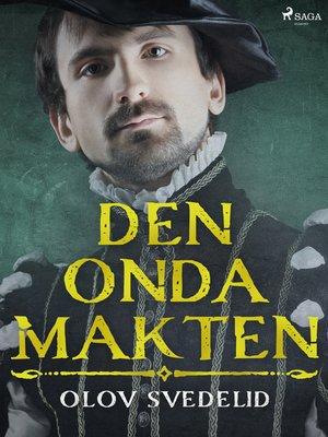 cover image of Den onda makten