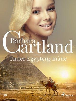 cover image of Under Egyptens måne